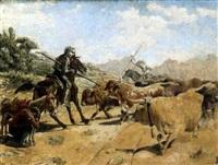 escena del quijote by eugenio alvarez dumont