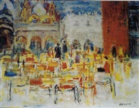 place st. marc à venise by simon claude (vanier) abramovitsch
