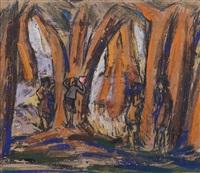 composizione nel bosco by luigi bartolini