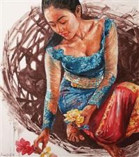mencari bunga persembahan by irwan widjayanto