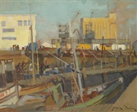 le port de casablanca by jean dulac