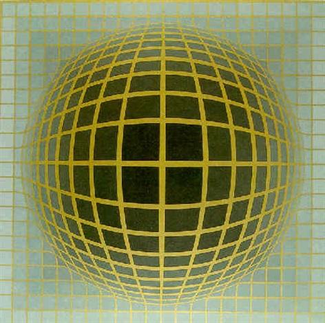 composición cinética by victor vasarely