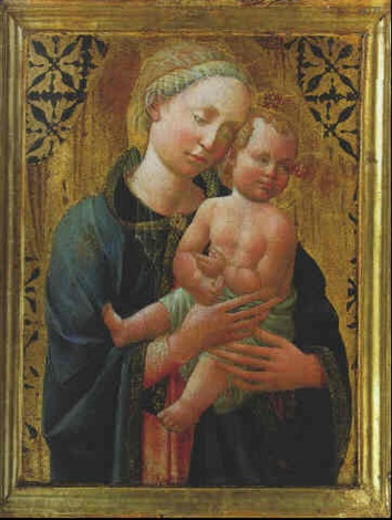 the madonna and child by domenico di michelino