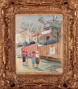 artwork by maurice utrillo