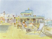 on the prom, eastbourne by mary jackson