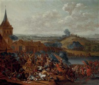 the battle of the boyne by e. van heemskerck
