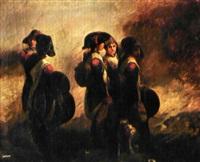 troupe de jeunes tambours des armées révolutionnaires by françois bouchot