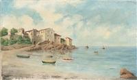 port méditerranéen by louis nattero