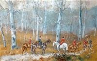 rallye bonnelles by karl andré jean (baron) reille