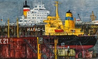hapag lloyd, dock 21 by karl goldammer-strnad