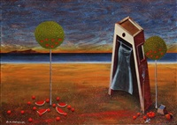 surrealist composition by dimitris milionis