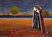 surrealist composition by dimitris milionis
