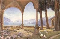 lake como, italy by edith helena adie
