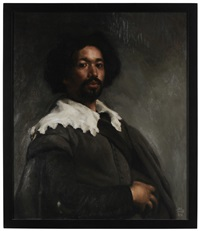 portrait of juan de pareja (after diego velazquez) by edward minoff