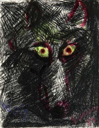 wolf by rainer fetting