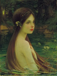 waterbaby by william samuel henry (sir) llewellyn