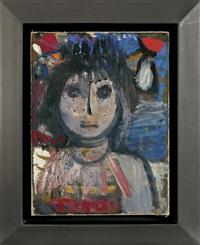 girl's head, around by artur nacht-samborski