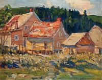 habitant farm house by frederick william hutchison