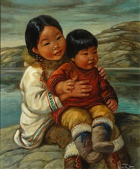 inuit children by nori peter