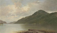 black mountain, lake george by john frederick kensett