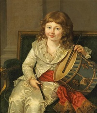 the young drummer by adélaïde labille-guiard