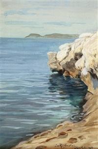 kroatische küste bei split by leo reiffenstein