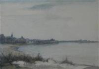 january, coastal town by katharine cameron