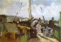 on board the passenger ship by henri louis scott