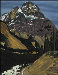 mt. stephen by edward john hughes
