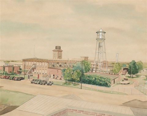 west textile mills by warner hoople