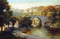 the bridge of don near aberdeen by george melvin rennie