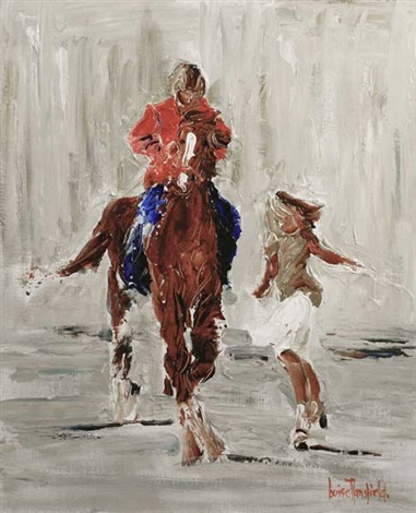chasing the pony by louise mansfield