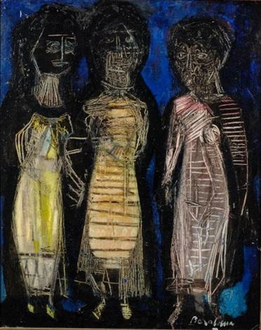 tres figuras by héctor basaldúa