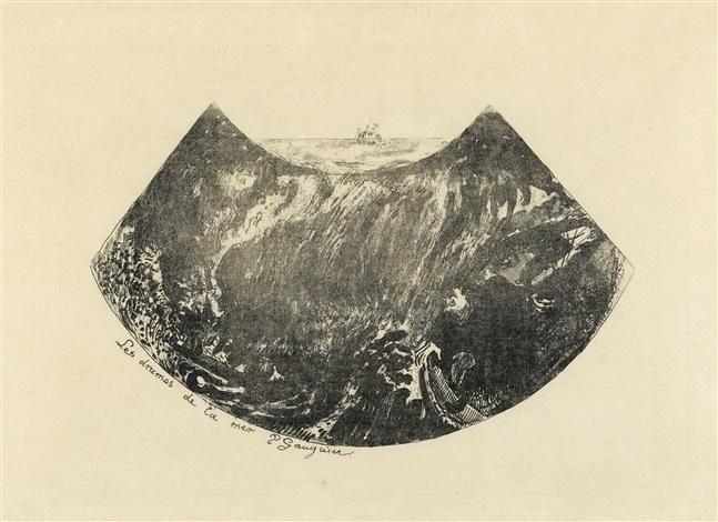 les drames de la mer une descente dans le maelstrom by paul gauguin