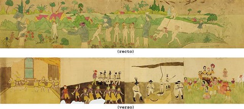 violet goes on a dangerous missionsurprised again by henry darger