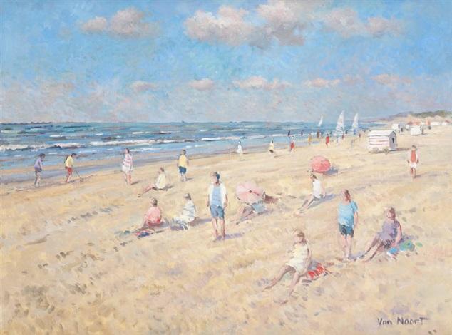 scène de plage by arie van noort