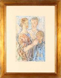 trzy postacie - rodzina by otto axer