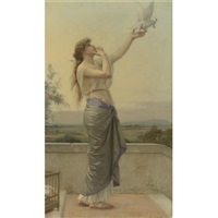 love's messenger by alexandre cabanel