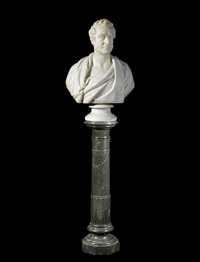 bust of dr benjamin travers by william behnes