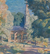 stockton church by daniel garber