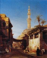 les souks en algérie by etienne raffort