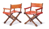 armchairs (set of 2) by andree putman