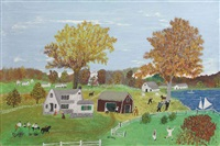 early fall by grandma moses