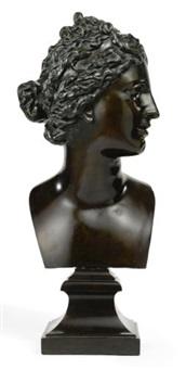 bust of venus de'medici by massimiliano (benzi) soldani