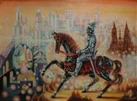 le chevalier des temps futurs by jean daprai