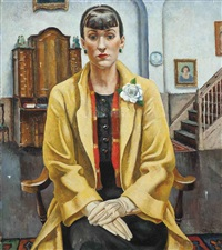 dorothy in the yellow coat by adrian paul allinson