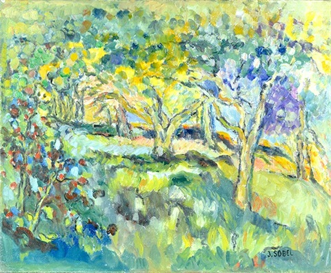 summer landscape by judyta sobel