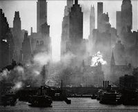 42nd street as viewed from weehawken by andreas feininger
