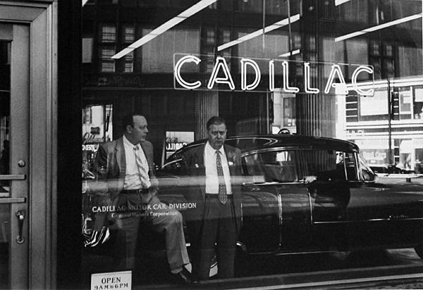 cadillac, new york by william klein