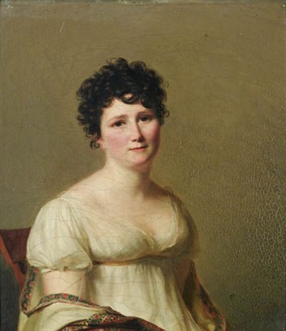 portrait de madame jean conrad hottinguer née martha elisa redwood by firmin massot